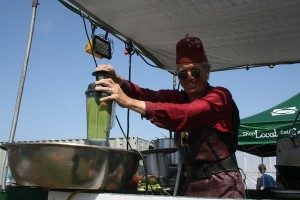 Chef Jozseph Schultz from restaurant India Joze appeared at HGP's debut Kalefest in 2012