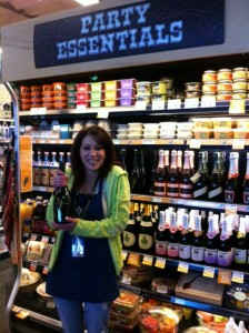 A local Whole Foods Market's champagne selection—a gift idea for Mother's Day