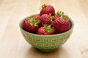 Strawberries can be a healthy part of back to school season