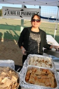 Food from Cafe El Palomar at Taste of the Harbor 2012