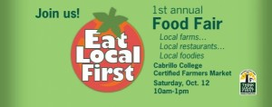 Eat Local First food festival is Sat Oct 12, 2013