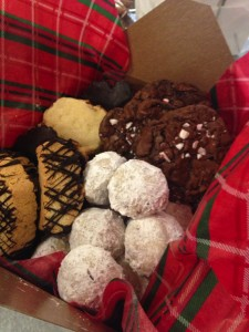 Holiday cookie assortment from the ROP Culinary Holiday Bake Sale