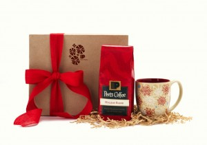 Peet's Holiday Blend 2013 Gift Package for $25