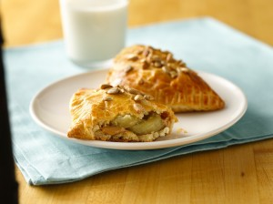 Celebrate National Peanut Month by baking Peanut Butter & Banana Crescents