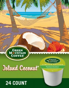 Seasonal Island Coconut Green Mountain Coffee