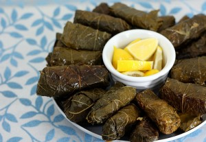 Dolmas are one of the delicious foods at Eat Like A Greek! this weekend