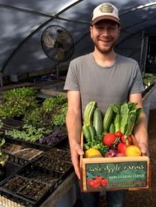 Produce at Love Apple Farms