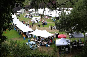 Attendees at a previous Gourmet Grazing on the Green
