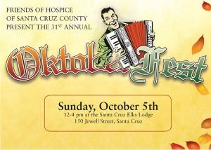 Friends of Hospice Oktoberfest postcard