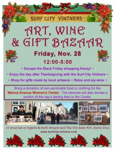 Surf City Vintners is hosting an art, wine & gift bazaar