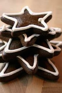 Gingerbread stars from Lark Creek Restaurant Group