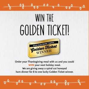 Win a holiday dinner from Whole Foods Market