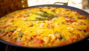 Paella will be available at Santa Cruz's POPUP on Friday, Dec. 5