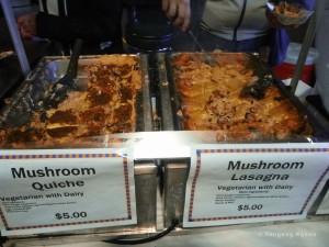 Mushroom-themed food for sale at a previous Santa Cruz Fungus Fair. Photo credit: Yevgeny Nyden