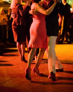 Guests dancing to live music at a previous Mountain Winery dinner/dancing event. Credit: Mountain Winery Facebook page