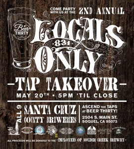 Soquel beer event proceeds will be donated to the employees of Boulder Creek Brewery and Cafe