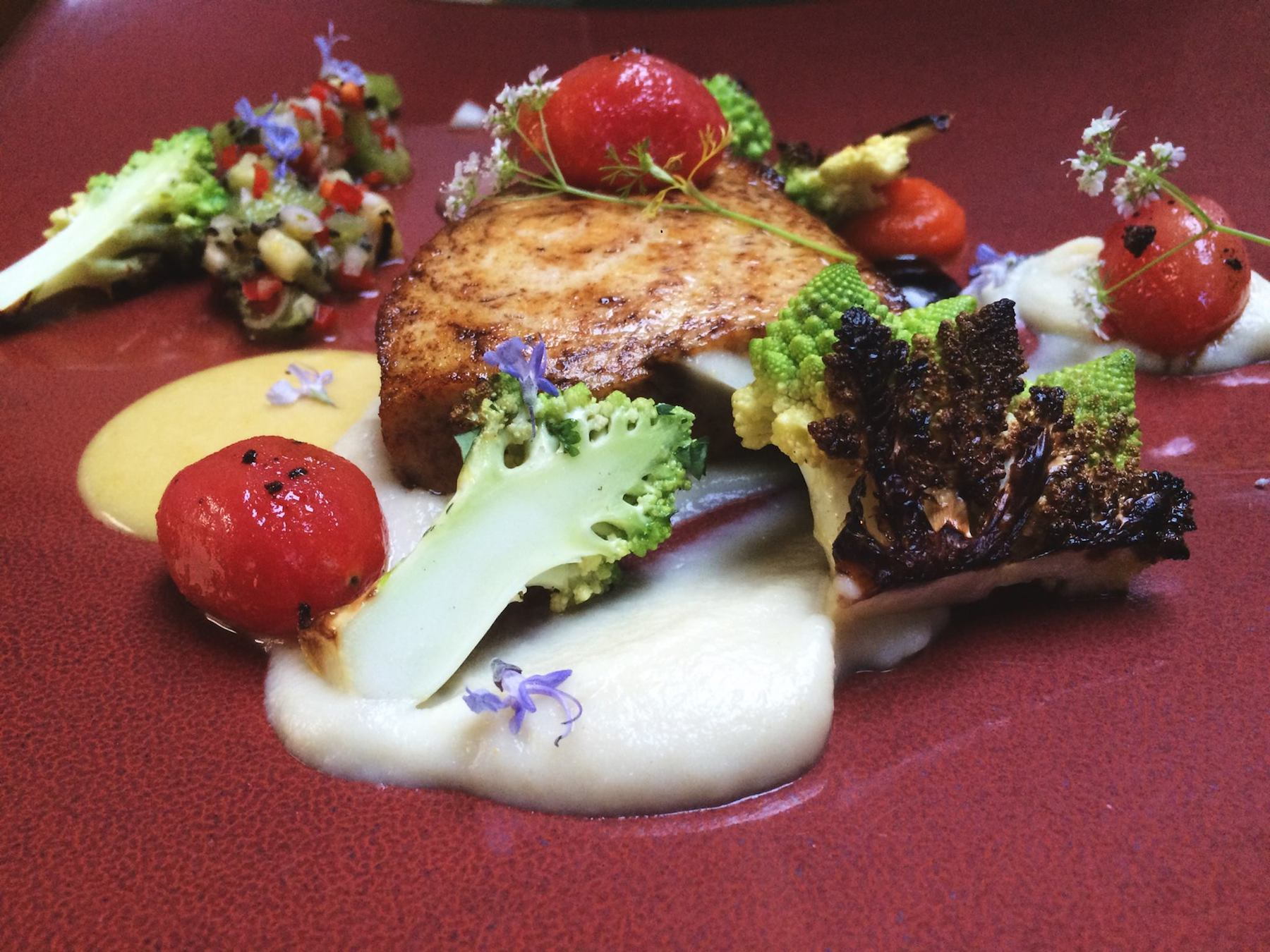 A dish from earlier this year at Hollins House, as posted on their Facebook page February 24, 2015