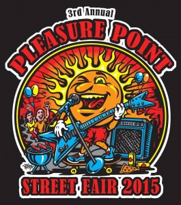The 2015 Pleasure Point Street Fair is Saturday, June 27