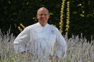 Cal Stamenov in the gardens at Bernardus Lodge & Spa Credit: Bernardus Lodge & Spa
