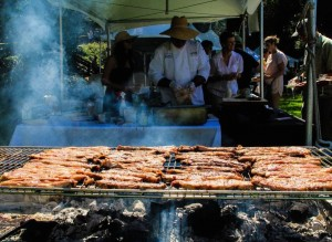 Food at a previous Gourmet Grazing on the Green