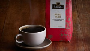 Holiday blend from Peet's Coffee and Tea