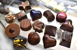Chocolates from Ashby Confections, one of the vendors at Food Lounge's Artisan Market