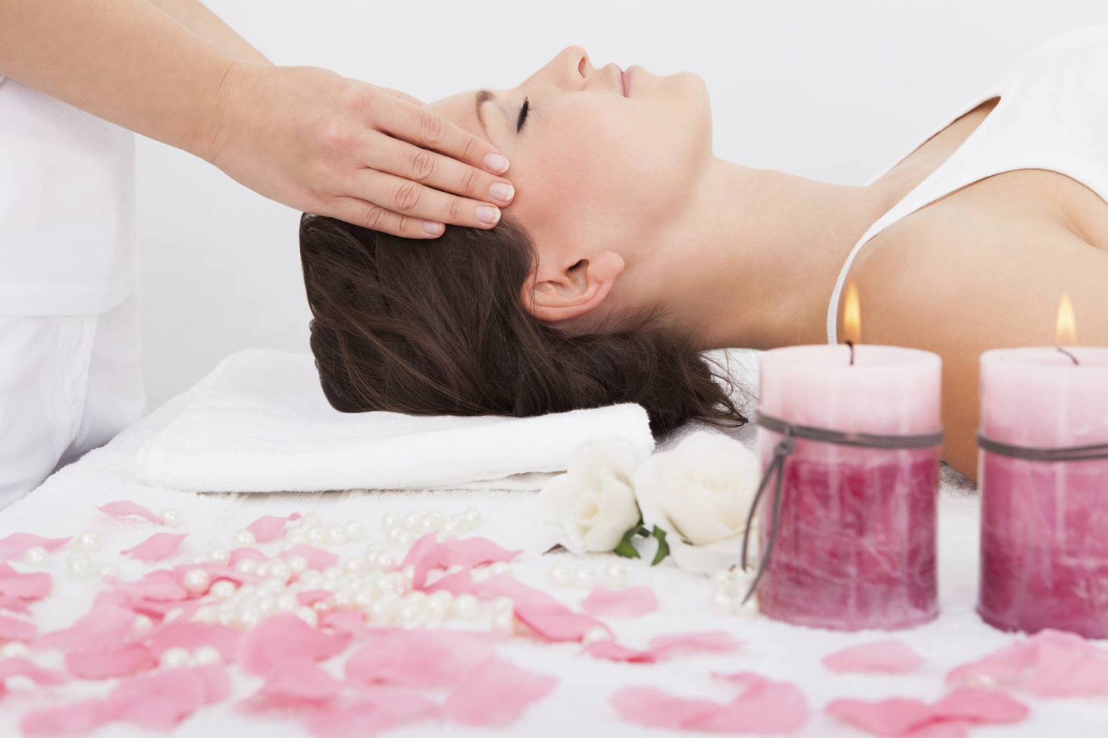 Rose geranium body polish: part of a Valentine's Day spa package at Chaminade