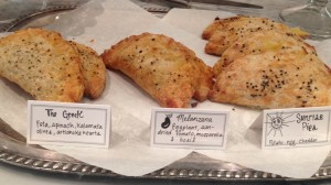 Savory hand pies at Buttercup Cakes & Farmhouse Frosting