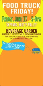 Scotts Valley Educational Foundation hosts a food truck event June 17