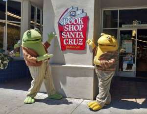 Frog & Toad will be at Bookshop Santa Cruz Saturday