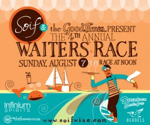 Santa Cruz's Soif hosts 4th annual waiters race
