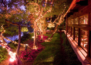 Festive Capitola restaurant Shadowbrook. Photo credit: Shadowbrook web site