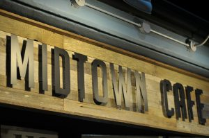 Midtown Café is the site of Friday's benefit