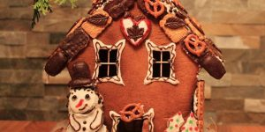 Kids can make gingerbread houses at New Leaf on Dec. 9