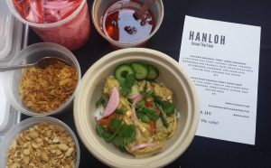 Hanloh Thai offerings at a Food Lounge pop-up on Feb. 10. Photo credit: Hanloh